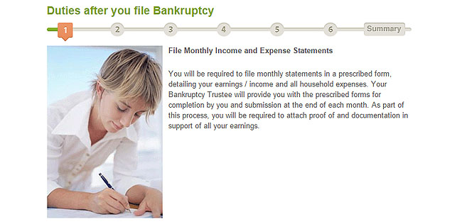 How to File Bankruptcy Step 1
